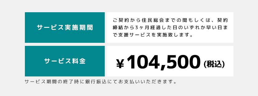 サービス実施期間 / 料金